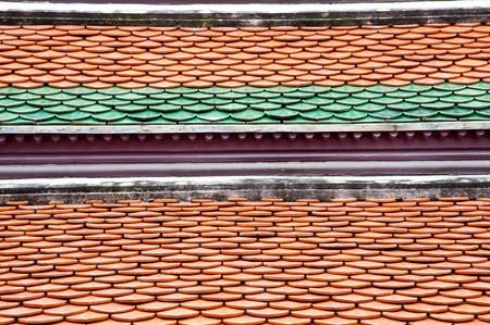 backgrounds of tiled roof photo