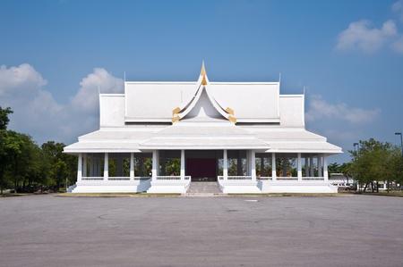 thai temple church Stock Photo