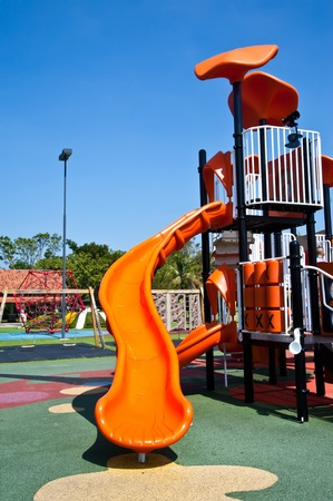 playgrounds in park Editorial