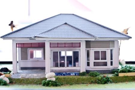 model house photo