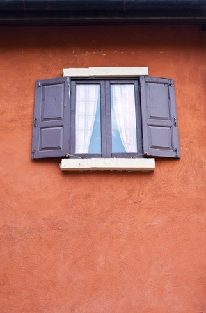 window on house photo