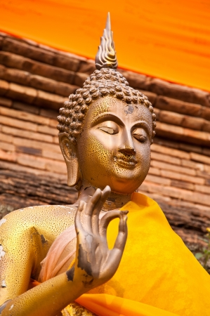 buddha statue in thai temple Stock Photo - 16250812