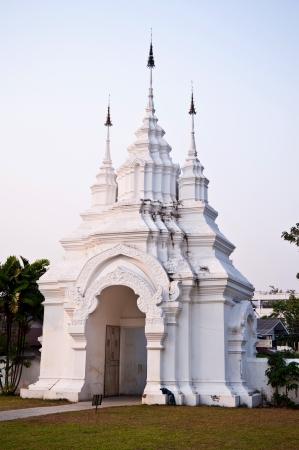 thai temple gate,Chiang Mai,Thailand
