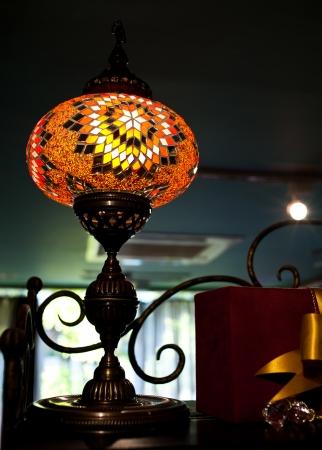 chrome base: lampada