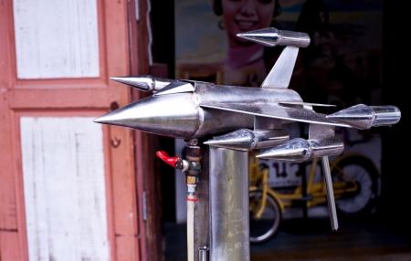 waterspout: tromba modello di razzo