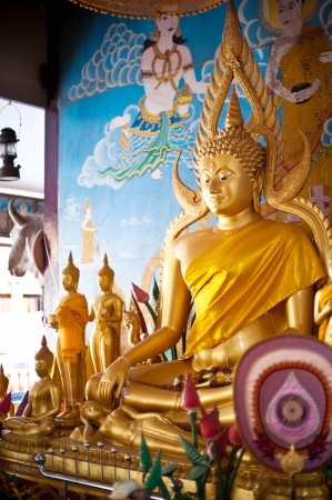 buddha statue in thai temple Stock Photo - 16770516