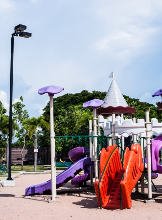 playgrounds in garden Stock Photo - 17099270