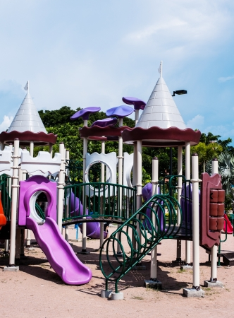 playgrounds in garden Stock Photo - 17138070