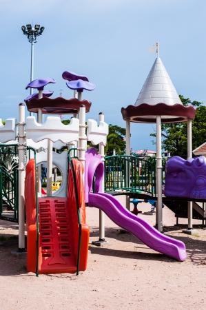 playgrounds in garden Stock Photo - 17099485
