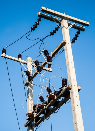 electric pole photo