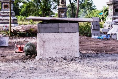 ferrous foundry: kiln Stock Photo