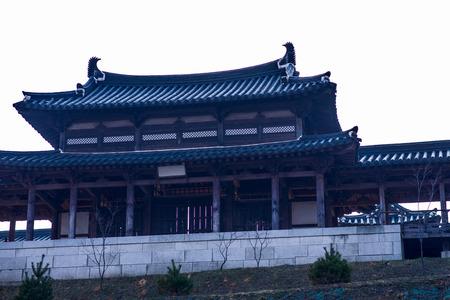 korea house Stock Photo - 22383600