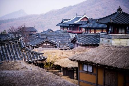 korea roof house