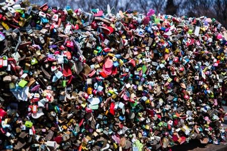circumspect: Lovers lock in N Seoul Tower, South Korea