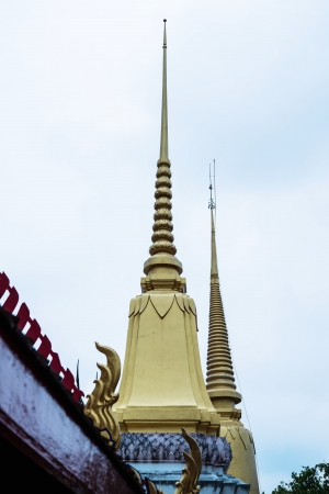 pagoda in thai temple photo