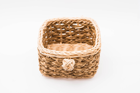 interleaved: basket on white backgrounds