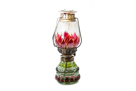 hurricane lamp: Hurricane lamp Stock Photo