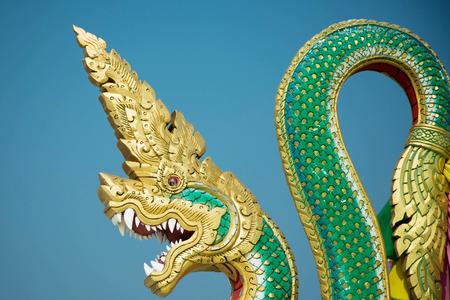 naga china: King of naga statue
