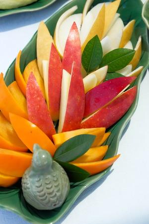 Fruit in dish