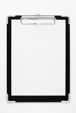 panoya: Black clipboard with copy space.