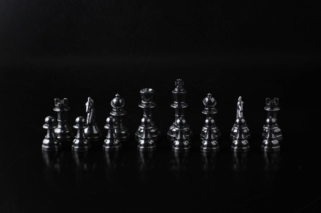 chessmen: Black chessmen