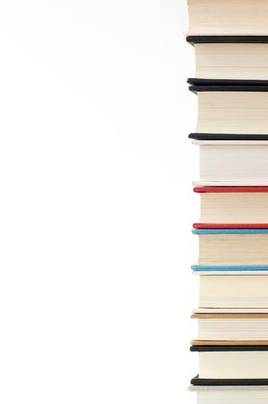Pile de livres de pr�s
