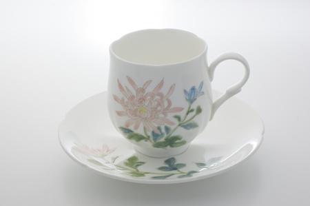 花コーヒー カップ