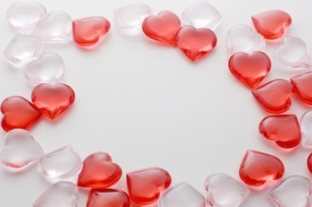 Small heart shape frame photo