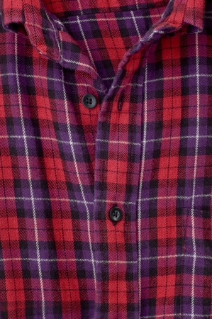 Red checkered shirt photo
