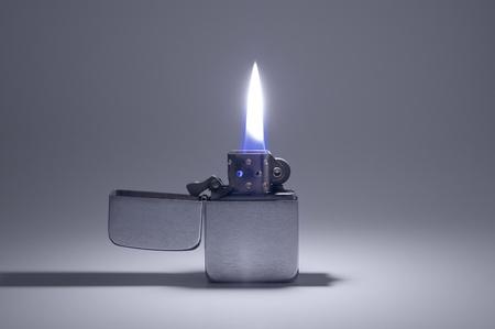 oil lighter Stock Photo