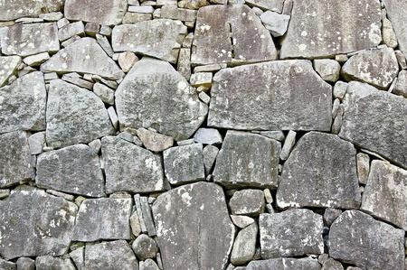 Mur de pierre en japonais ch�teau Banque d'images