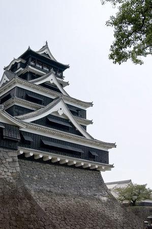 Kumamoto castle, Japan Editorial