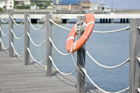 Landscape of the harbor 写真素材