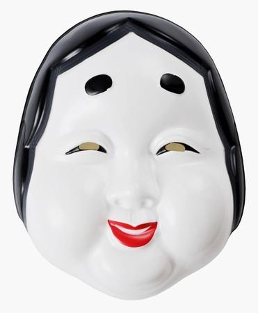 Otafuku est l�gendaire personnage, masque traditionnel japonais pour le festival