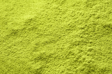 Maccha, dried powder green tea of background material