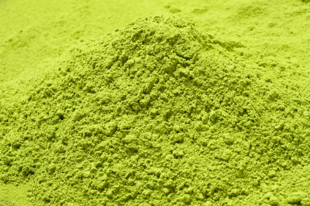 matcha: Maccha, dried powder green tea of background material