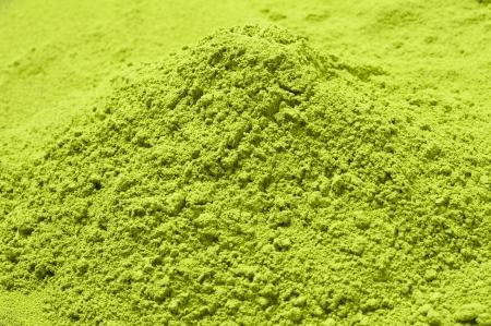 Maccha, le th� vert en poudre s�ch�e de documentation Banque d'images