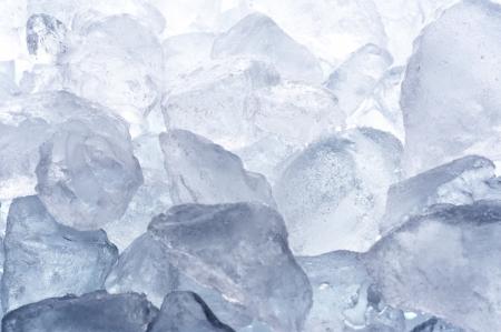 背景素材、クローズ アップ撮影のアイス キューブ 写真素材