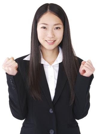 wnętrzności: Wnętrzności Businesswoman pozować
