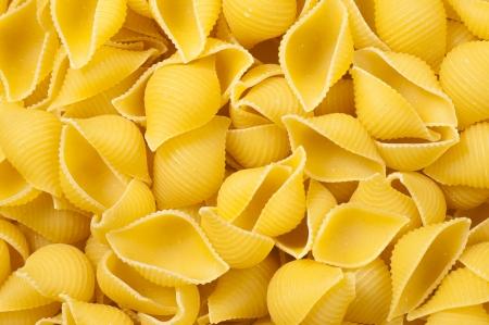 short pasta: Background of short pasta Stock Photo