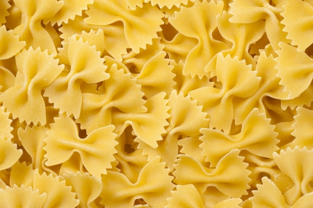 short pasta: Background of short pasta Stock Photo