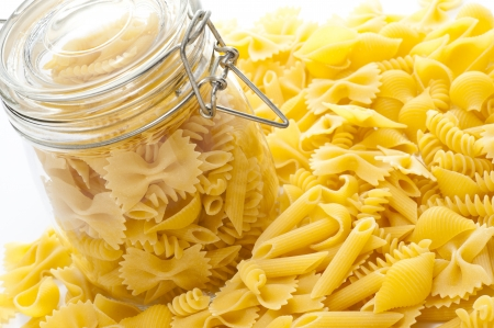 short pasta: Short pasta several kinds