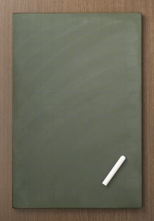 white chalks: Pizarra en blanco con tizas blancas