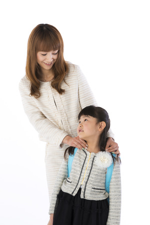 schoolchild: new student carried a schoolchild