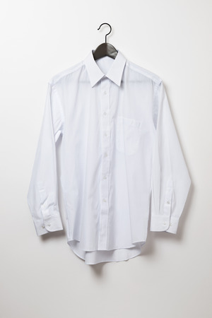 White shirt and hanger