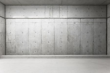 hormig�n: Muro de hormig?n Foto de archivo