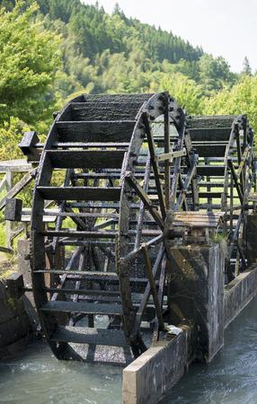 waterwheel: Waterwheel oitaprefecture japan