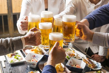 saúde: Homens e mulheres para ser o brinde com taberna