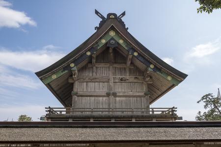 unattended: Izumo Taisha main shrine of