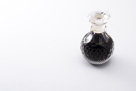 Soy sauce bottle of glass Zdjęcie Seryjne